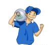 蓝光怡宝桶装水配送