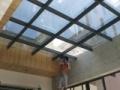 玻璃顶棚隔热膜门窗防晒膜遮阳遮光材料玻璃防爆膜玻璃纸磨砂膜