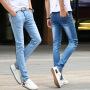 白色牛仔铅笔裤_白色牛仔铅笔裤价格_白色牛仔铅笔裤图片_列表网