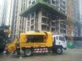 混泥土输送泵地泵租赁