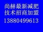 2017尚赫最新减肥技术招商加盟
