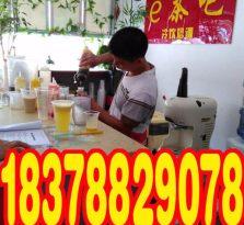 广西贵港奶茶技术培训学校培训照片/贵港奶茶培训班课