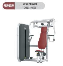 健身房器械双向推胸训练器俱乐部器材百利恒江苏办事处