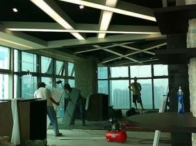 罗湖办公室吊顶装修蛇口写字楼装修