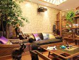70平米東南亞風情兩室