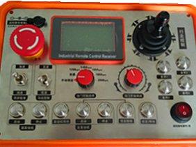 单摇杆式工业无线遥控器