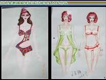 服装设计,立裁,成衣作品
