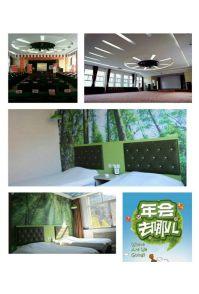 济南金象山宾馆、会议室重装升级,森林主题、LED屏