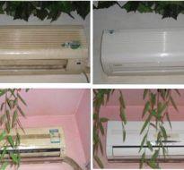 空调清洗对比