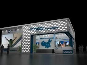 【思拓】重庆展览设计公司,重庆房交会展厅展示设计