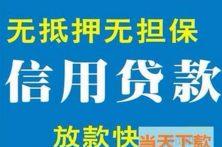 上海抵押无抵押贷款,上海大额短借