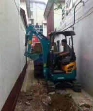 上海挖掘机租赁
