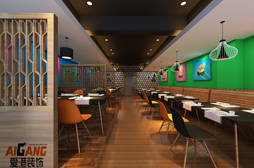 重庆餐饮会所装修-餐饮店设计