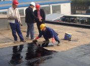 上海防水补漏工作现场