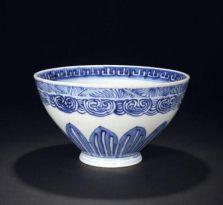 清朝青花瓷碗