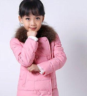 杭州童装拍摄羽绒服