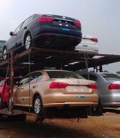 新疆各地州至全国轿车托运,只托车,不托货!