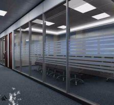 杭州万国办公隔断玻璃安装 专业隔断数十载让您更放心