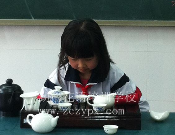 少儿茶艺 --调皮小姑娘遇茶的蜕变