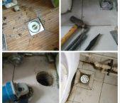 安装防臭地漏 厨卫除异味