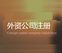 外资公司注册