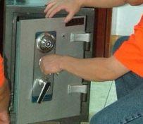 换保险柜锁芯