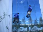 玻璃外墙清洗