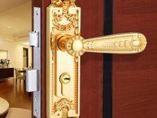 小区卧室门锁