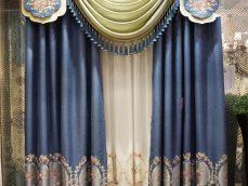 新古典风格提花窗帘