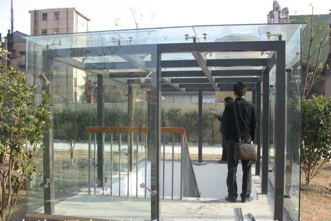 供应空地钢结构休闲棚公园凉亭顶棚