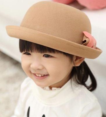 杭州童装拍摄帽子模特