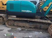 山河80挖掘机