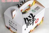 郑州水果礼品箱设计,