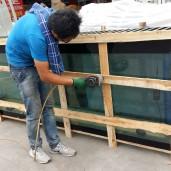 大型鱼缸包装运输