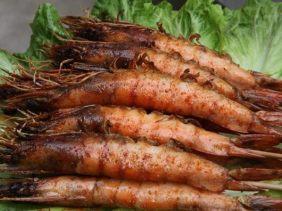 苏州户外烧烤配送:明虾