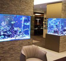 南京饭店,酒店海鲜池的设计与制作