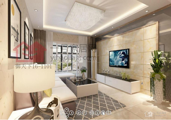 滁州御天下三室一厅116平装修案例—南京一号家居