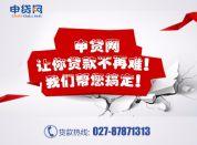 武汉小额贷款 房屋抵押贷款 信用贷款