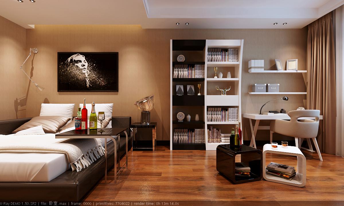 将卧室与客厅的隔墙打通,让玄关更宽敞整齐.