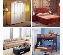 专业高价收:衣柜床沙发餐桌
