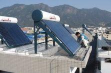 长春清华太阳能热水器水不热