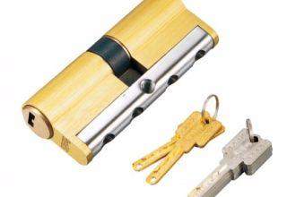 不锈钢镶体加固锁芯