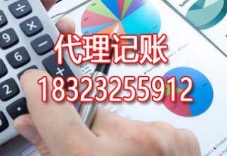 重庆沙坪坝代理记账报税+工商执照代办