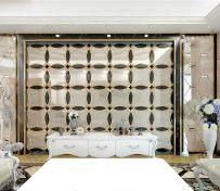 金镶瓷水刀艺术背景墙