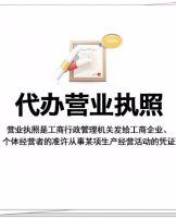 上海浦东代办营业执照