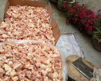 香酥鸡块斩切合适尺寸2公分