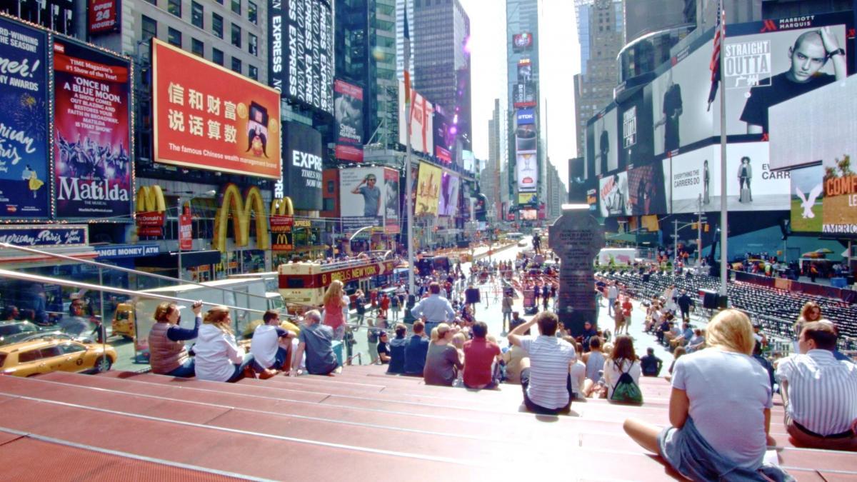 纽约时代广场-2015年信和财富大事快讯