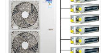 烟台格力格力家用中央空调安装详解