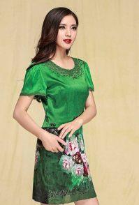 杭州女装拍摄连衣裙模拍