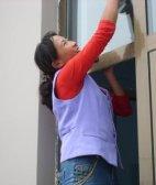丰台木樨园家政保洁小时工打扫卫生擦玻璃